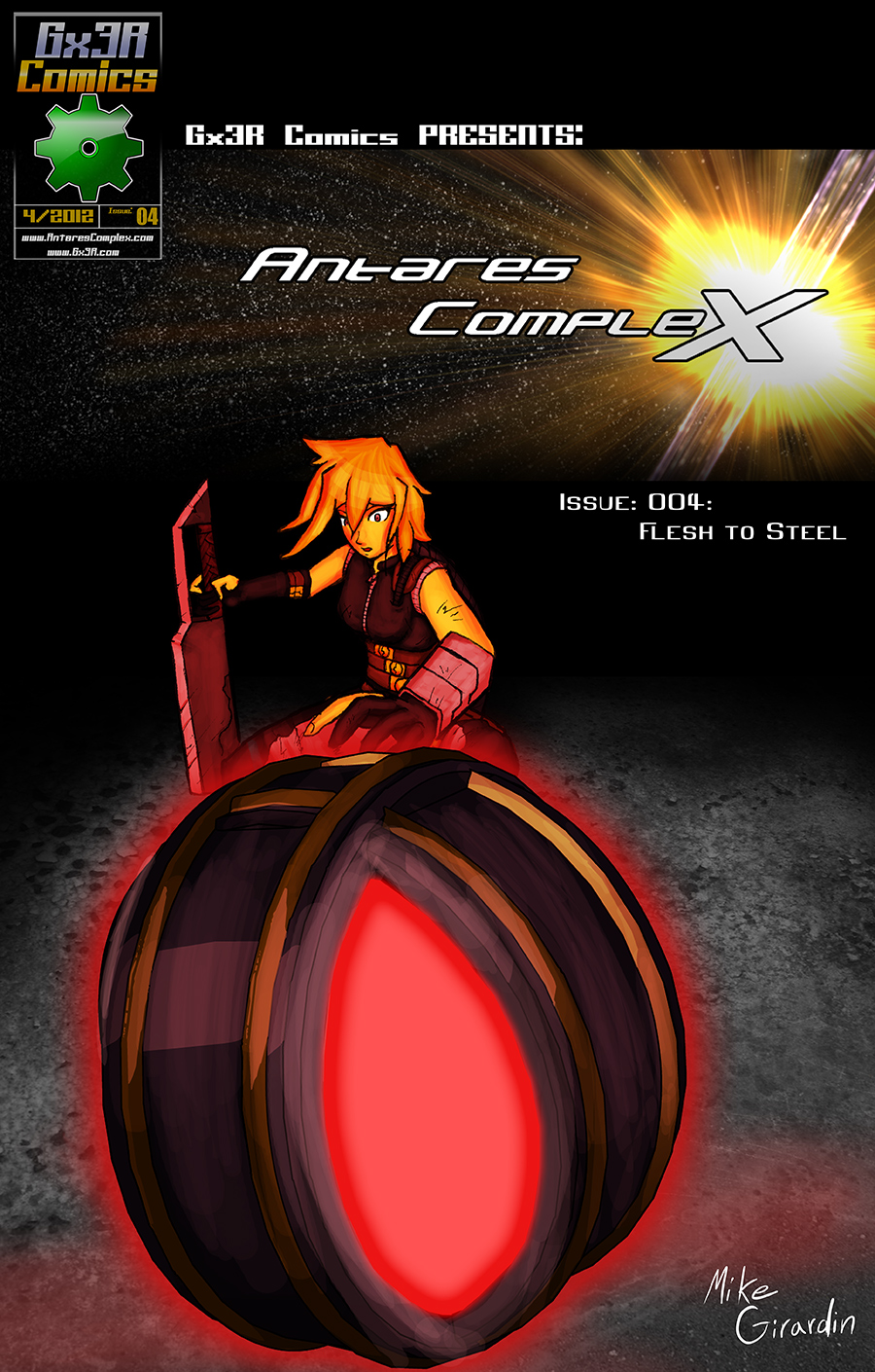 Issue 04 Flesh To Steel