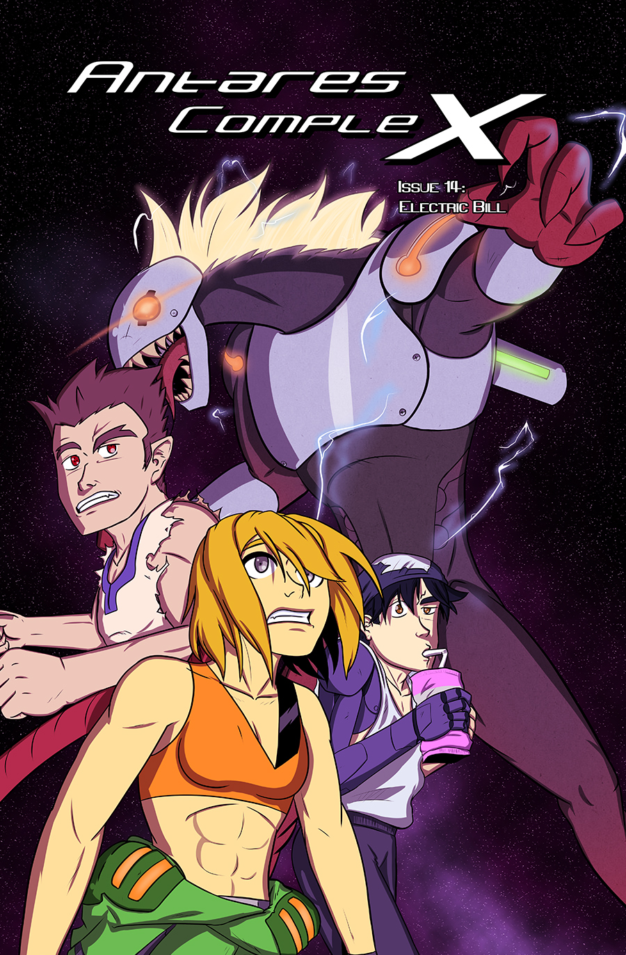 Antares Complex Issue 14 Cover