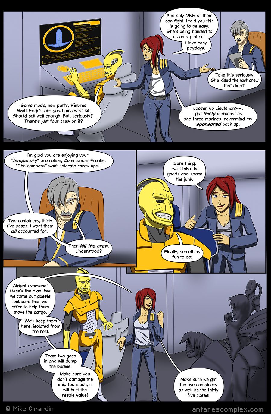 Antares Complex Issue 14 page 10